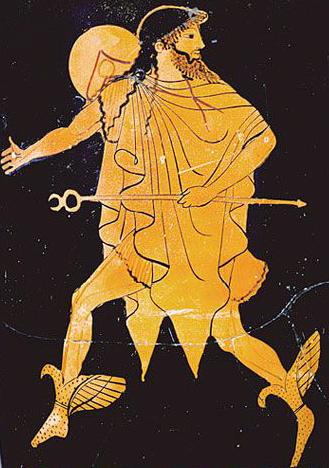 """Breve storia per immagini della parola """"angelo"""", da Hermes a Messenger"""